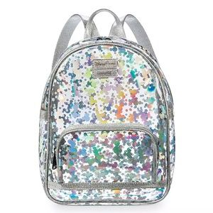 Mickey Mouse Magic Mirror Metallic Mini Backpack